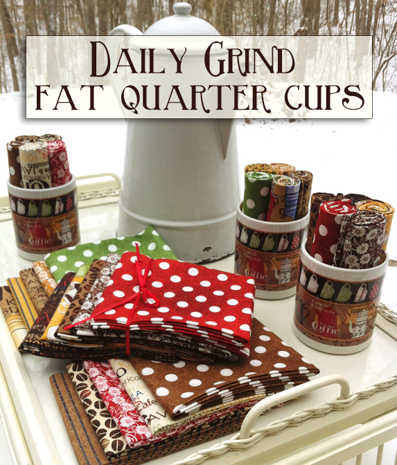 Fat Quarter Cups