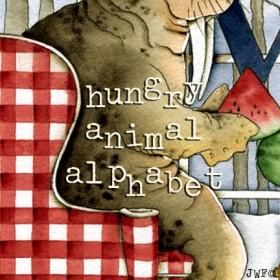 Hungry Animal Alphabet